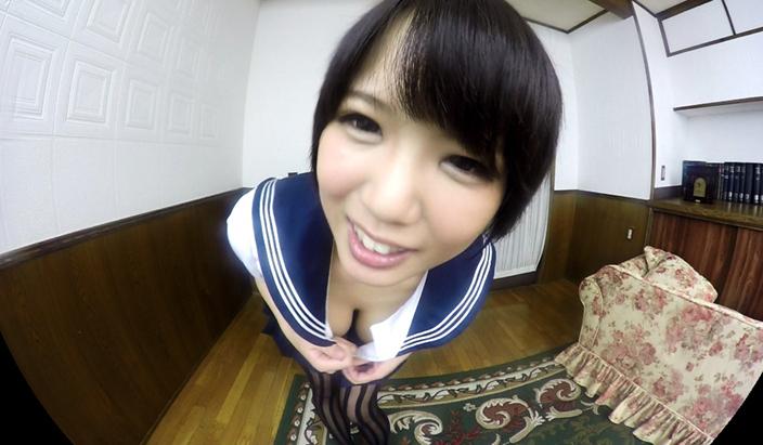 アダルトVR動画:【無料】真田美樹:まさかの隠しコマンド…元気が出るおっぱい動画