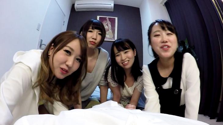 アダルトVR動画:一夫多妻制の朝 4人の妻と次々とセックス