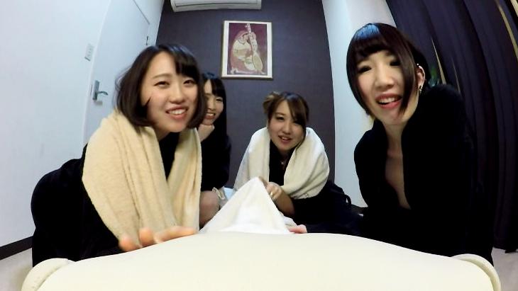 アダルトVR動画:今日は子作りする日だよ…。危険日の4人の妻と次々セックス