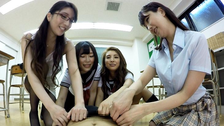 VRアダル ト 学校で集団痴女プレイ!
