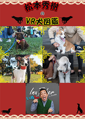 VR動画:松本秀樹のVR犬図鑑!中型犬パピー編(甲斐犬、ベドリントン・テリア、ウィペット、ウェルシュ・コーギー・ペンブローグ)