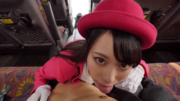 【匠・バイノーラル】美人バスガイドと車内セックス 川菜美鈴