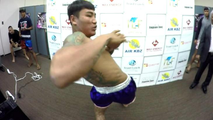 『ラウェイ・グランプリ・イン・ジャパン2016』記者会見VR ダイジェスト画像2