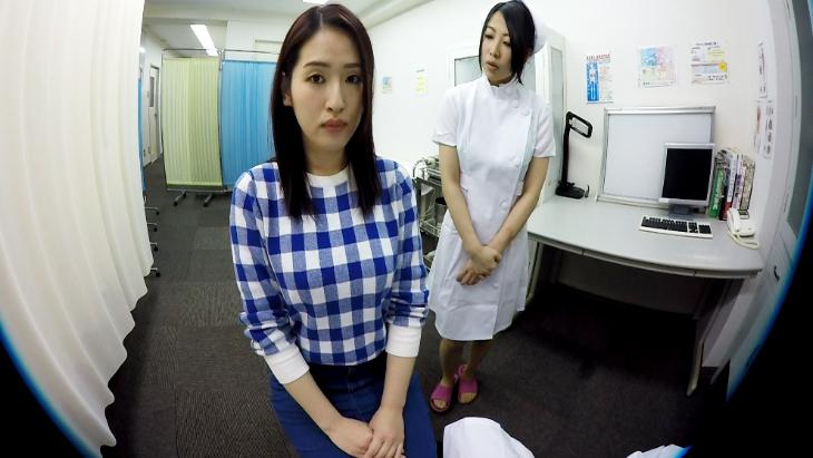 アダルトVR動画:若奥様の感度チェック!