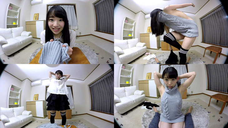 姫川ゆうな:カノジョがあのセーターに着替えたら…かわいさ全開!大興奮中出しSEX!