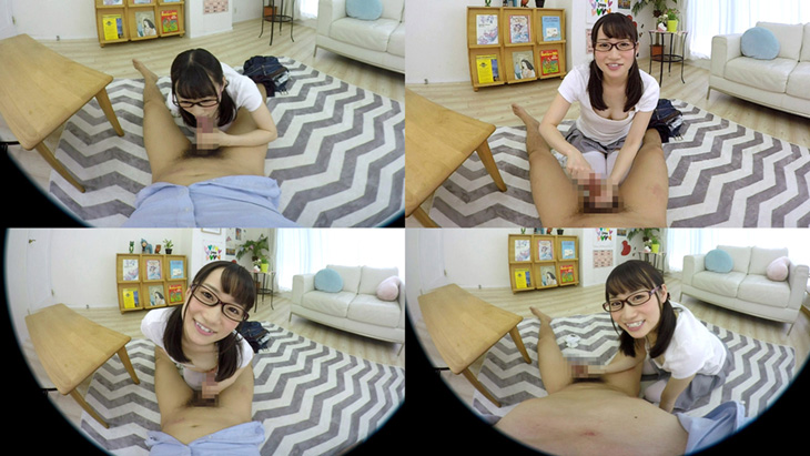 大島美緒:眼鏡で地味な幼馴染みはなんとも破廉恥な隠れ痴女!!