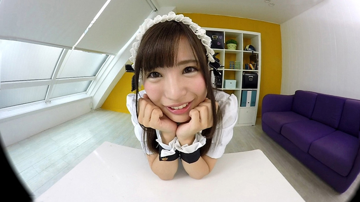 佐々波綾:絶頂クンニ!!かわいいメイドと中出しSEX!! ボクのことを好き過ぎるご奉仕メイドとのなんともうらやましい日常。