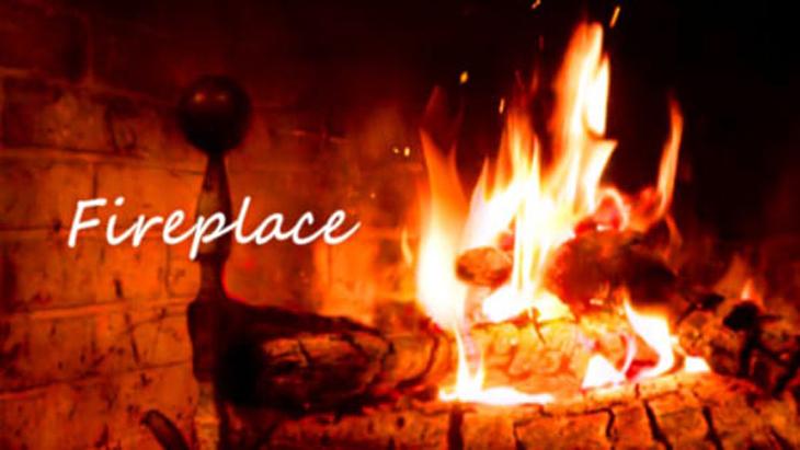 VR動画:Fireplace ~暖炉~