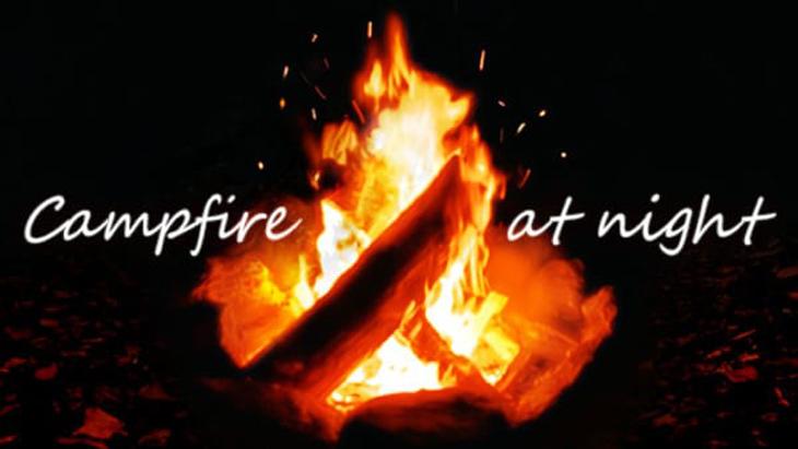 Campfire at night ~焚き火~