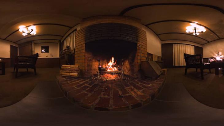 【3DVR】Fireplace ~暖炉~:1枚目