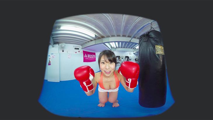 鈴木ふみ奈 キックボクシングを自画撮り:2枚目