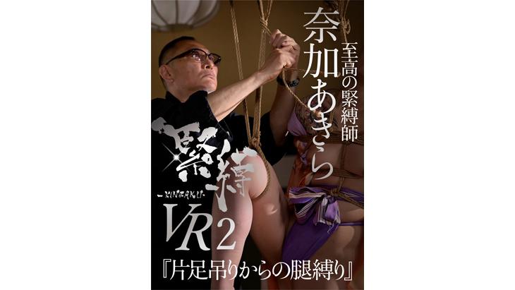 【通常版】緊縛VR2『片足吊りからの腿縛り』 イメージ