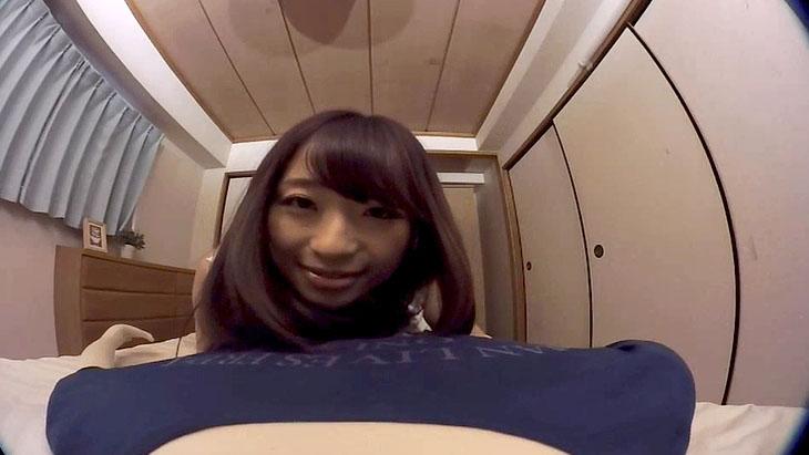 僕だけの初美沙希 顔が近くてドキドキする添い寝