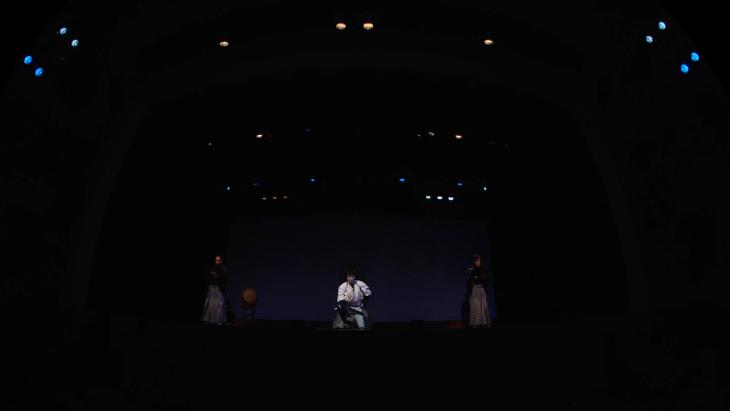 喜多村緑郎 一人芝居「国定忠治」:1枚目