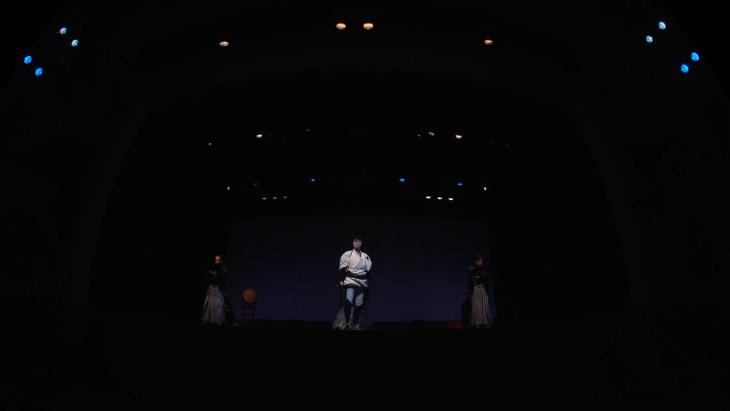 喜多村緑郎 一人芝居「国定忠治」:2枚目