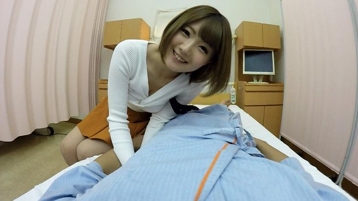 アナタの彼女は川村まや!!お見舞いに来た欲求不満彼女の見せつけオナニー、濃厚フェラ