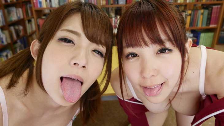 VR 3Pスペシャル 麻里梨夏×森はるら ~VRだからホントに3Pしているみたいでしょ!!~