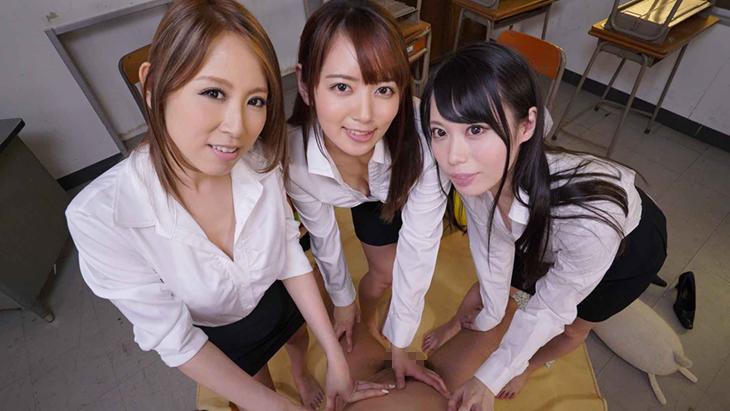 【匠】「イジメられっこ」で「童貞」の僕を女教師3人が優しくセックスで慰めてくれた 北川エリカ・川菜美鈴・美咲かんな