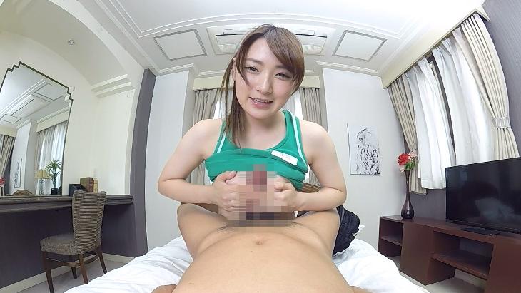 極上すぎるボディの巨乳女子大生とのベロチューしまくり肉感濃厚中出しSEX  坂井亜美