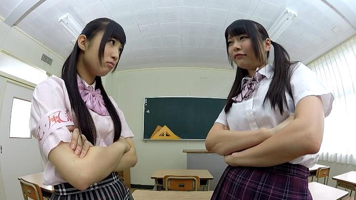 性に開放的な学園でとびきり可愛い美少女2人とずっと生ハメSEX! 栄川乃亜 なつめ愛莉