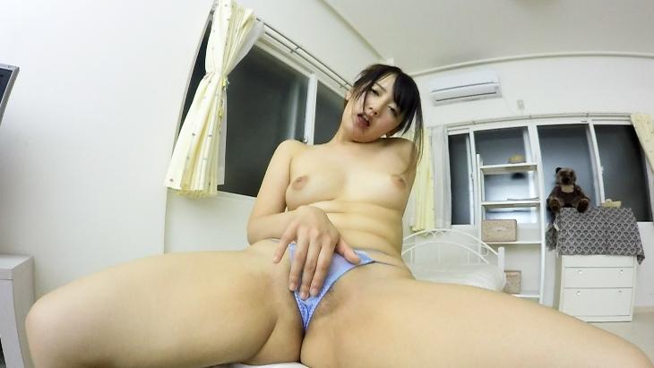 美咲かんな オマ●コ・アナル見せつけVRオナニー