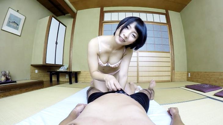 阿部乃みく 乳首舐め手コキ・フェラチオ!!VRだからすごくリアルでしょ?
