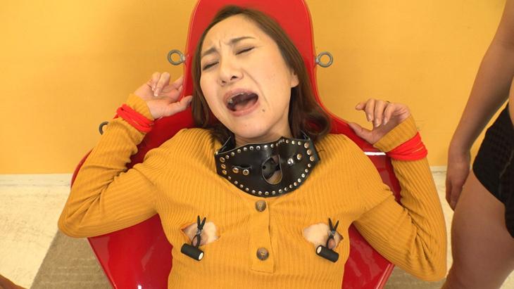 【U.F.O.SA連動・4K】調教志願 変態人妻の敏感勃起マゾ乳首凌辱 イメージ