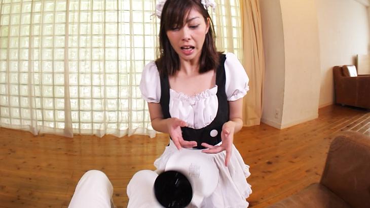 【通常版】メイド編 クールな見た目と裏腹な超絶ドジッ娘メイドのドジを眺めていたら勝手に挿入されてそのまま発射。