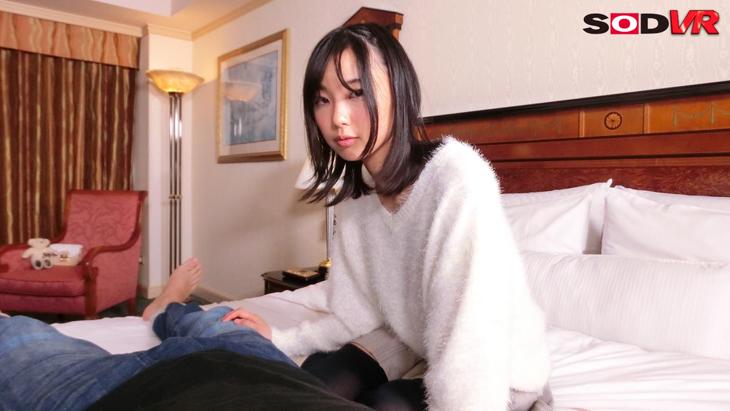 SODstar竹田ゆめ 初VR!アナタと初めてのお泊りエッチ うぶな彼女と緊張と恥じらいの2人きりSEX