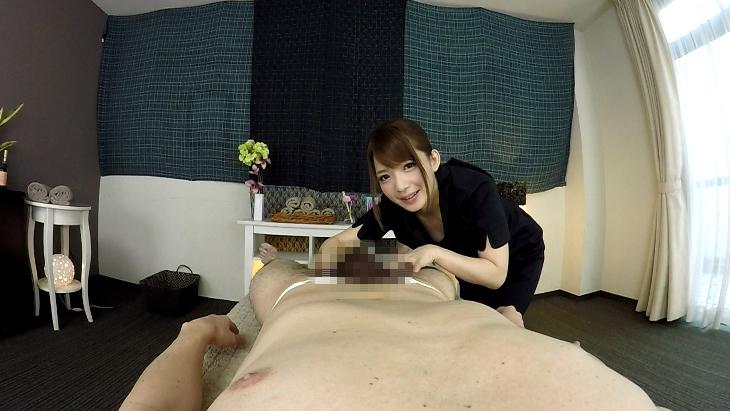 麻里梨夏 乳首快楽中出しMensサロン ver VR